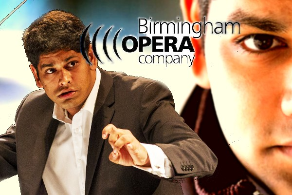 Alpesh Chauhan, New Music Director of Birmingham Opera Company